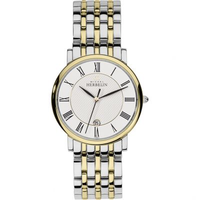 Mens Michel Herbelin Watch 12543/BT01