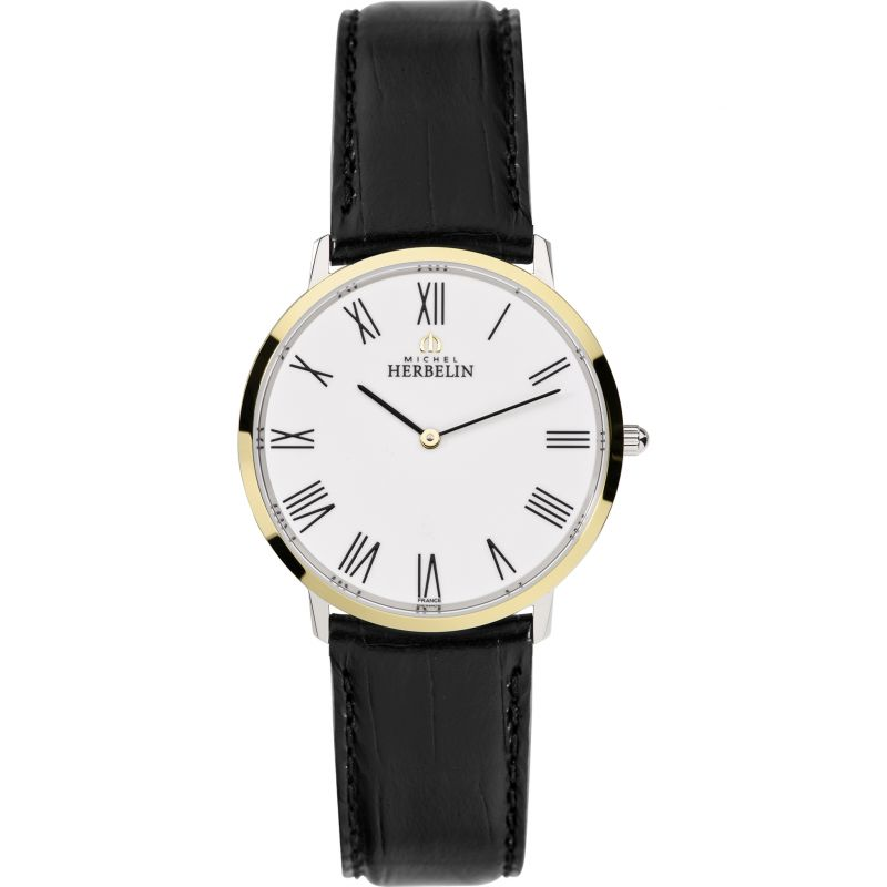 Mens Michel Herbelin Ikone Watch 17415/T01