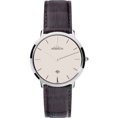 Mens Michel Herbelin Ikone Grande Watch 19515/17MA