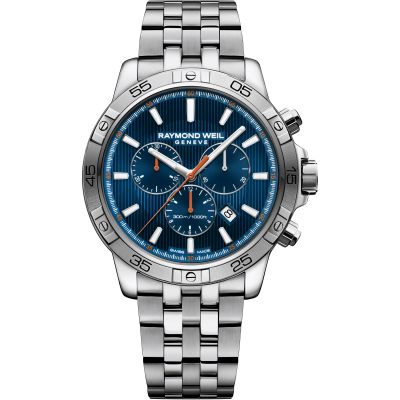 Mens Raymond Weil Tango 300 Chronograph Watch 8560-ST2-50001