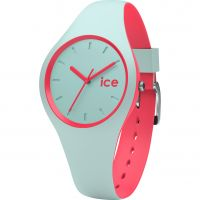 Ladies Ice-Watch Duo Mint-Coral Watch