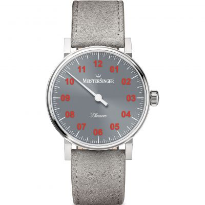 Unisex Meistersinger Phanero Mechanical Watch PH307R