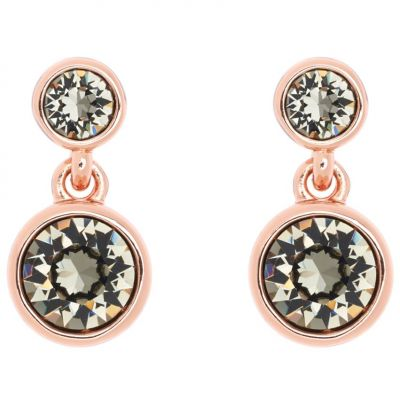 Karen Millen Dames Crystal Dot Earring Verguld Rose Goud KMJ879-24-23