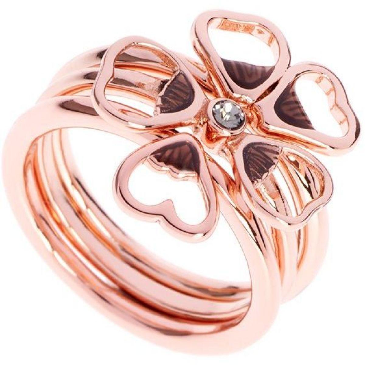 Ladies Ted Baker Jewellery Rose Gold Plated Leotie Enamel Flower ...