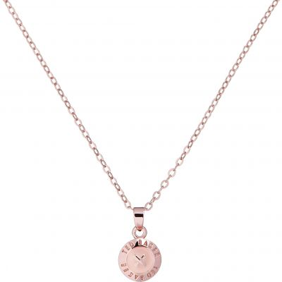 Ted Baker Dam Elvina Enamel Mini Button Pendant Necklace Roséguldspläterad TBJ1260-24-134