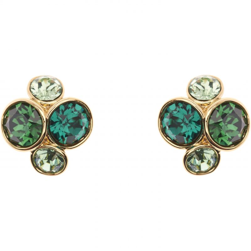 Ladies Ted Baker Gold Plated Lynda Jewel Cluster Stud Earring TBJ496-02-225