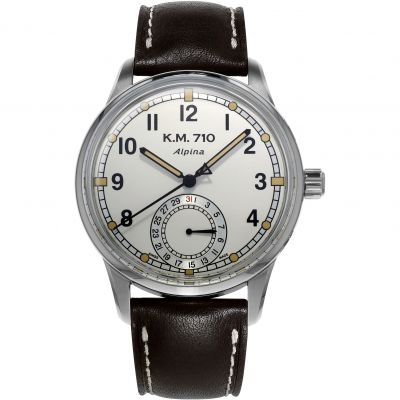 Mens Alpina Alpiner Heritage Automatic Watch AL-710KMV4E6