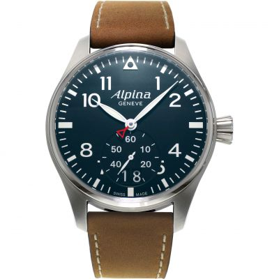 Mens Alpina Startimer Pilot Watch AL-280N4S6