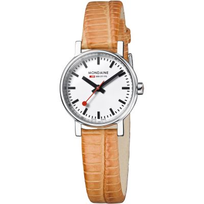 Ladies Mondaine Swiss Railways Evo Watch A6583030111SBG
