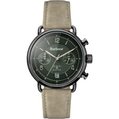 Mens Barbour Salisbury Chronograph Watch BB053GRKH