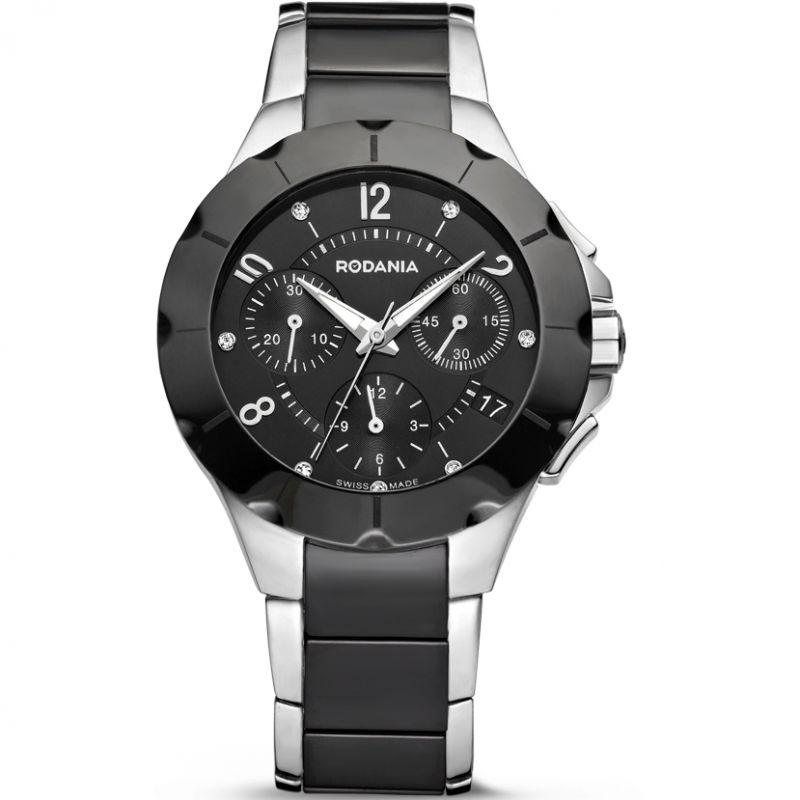 Ladies Rodania Swiss Mystery Chronograph Watch