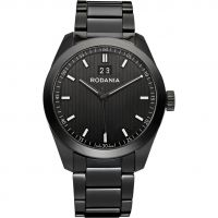 Mens Rodania Swiss Mystery Ceramic Watch