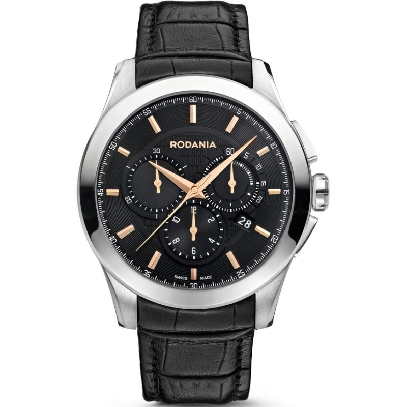 Mens Rodania Swiss Chic Classics Chronograph Watch RS2507127