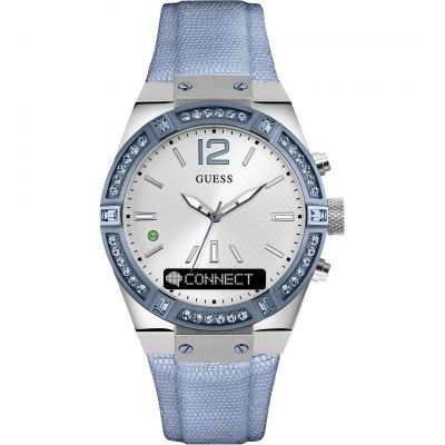 Ladies Guess Connect Bluetooth Hybrid Smartwatch Watch C0002M5