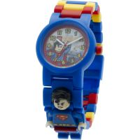 LEGO DC Super Heroes Superman Minifigure Link WATCH
