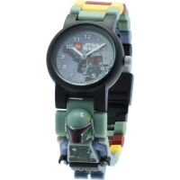 Childrens LEGO Star Wars Boba Fett Minifigure Link Watch 8020448