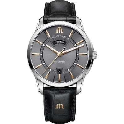 Montre Homme Maurice Lacroix Pontos Day-Date PT6358-SS001-331-1