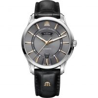 Mens Maurice Lacroix Pontos Day-Date Automatic Watch PT6358-SS001-331-1