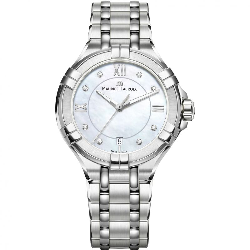 Ladies Maurice Lacroix Aikon Diamond Watch AI1006-SS002-170-1