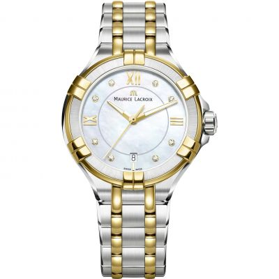 Ladies Maurice Lacroix Aikon Diamond Watch AI1006-PVY13-171-1