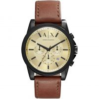Mens Armani Exchange Chronograph Watch AX2511