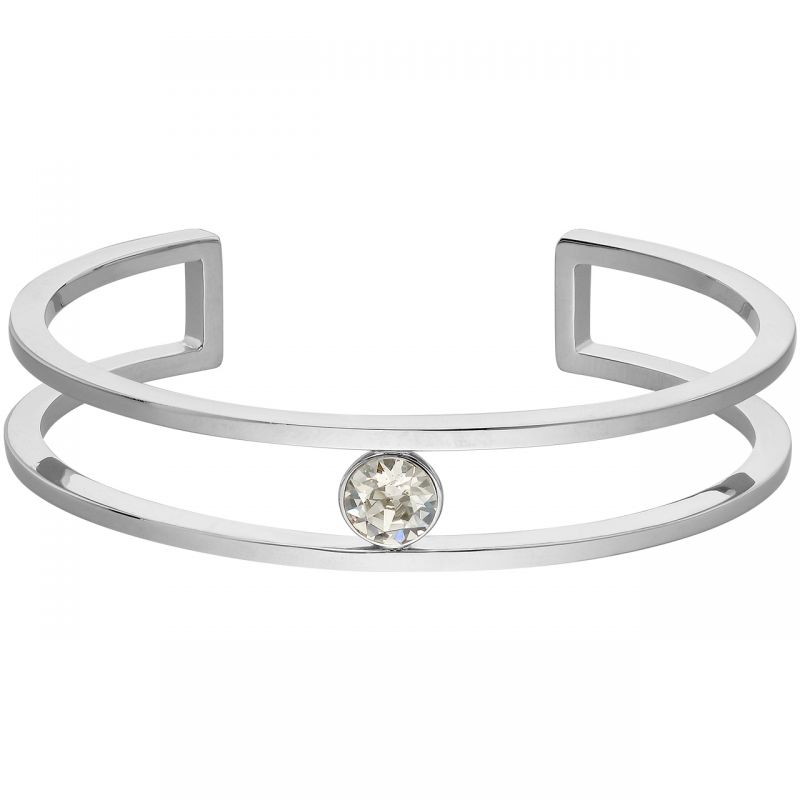 Ladies Lola & Grace Silver Plated Bangle 5217048
