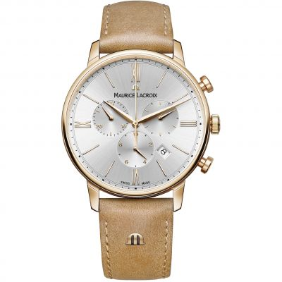 Mens Maurice Lacroix Eliros Chronograph Watch EL1098-PVP01-111-2