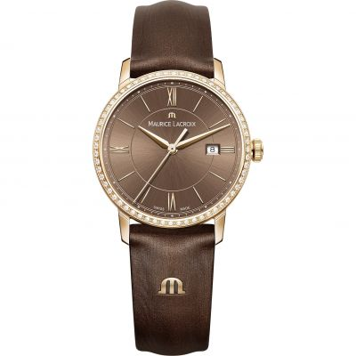 Ladies Maurice Lacroix Eliros Diamond Watch EL1094-PVPD1-710-1