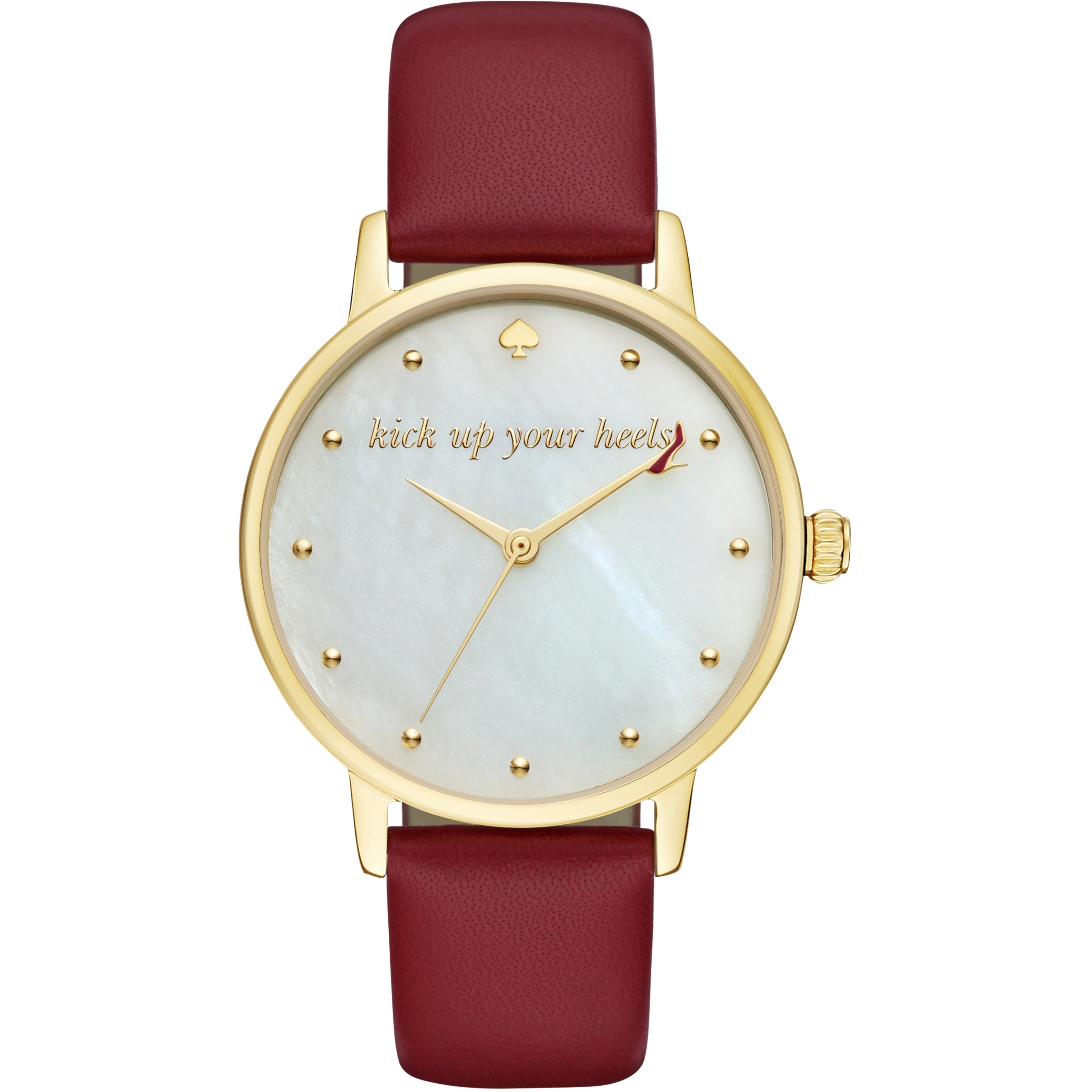 01a7f967a6bb Ladies Kate Spade New York Metro Kick Up Your Heels Watch (KSW1209 ...