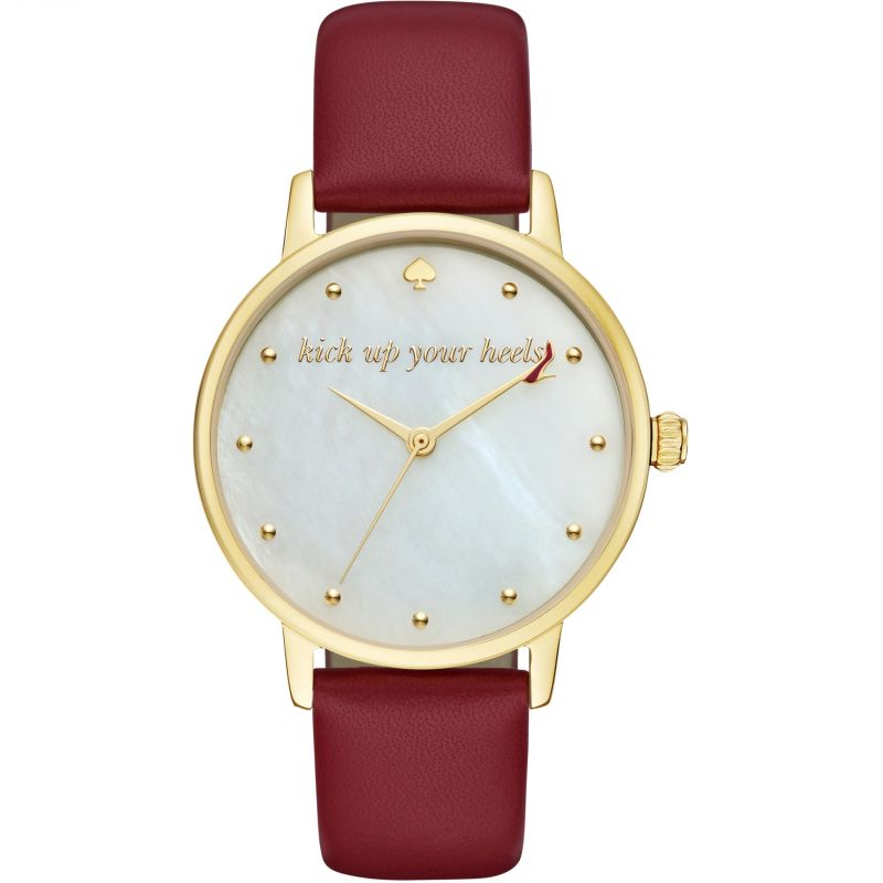 Ladies Kate Spade New York Metro Kick Up Your Heels Watch KSW1209