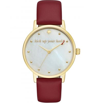 Kate Spade New York Metro Dameshorloge Rood KSW1209