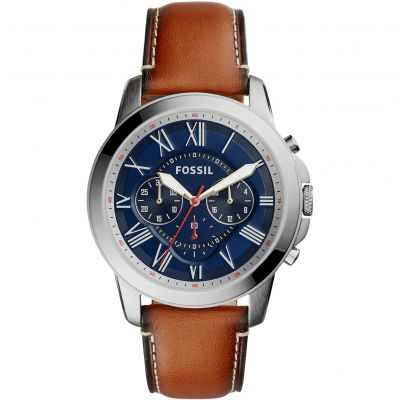 Mens Fossil Grant Chronograph Watch FS5210
