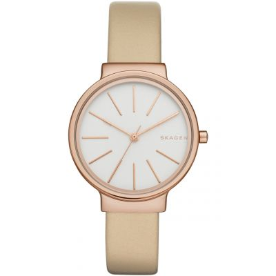 Skagen Ancher Dameshorloge Creme SKW2481
