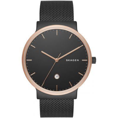 Skagen Ancher Herrenuhr in Schwarz SKW6296