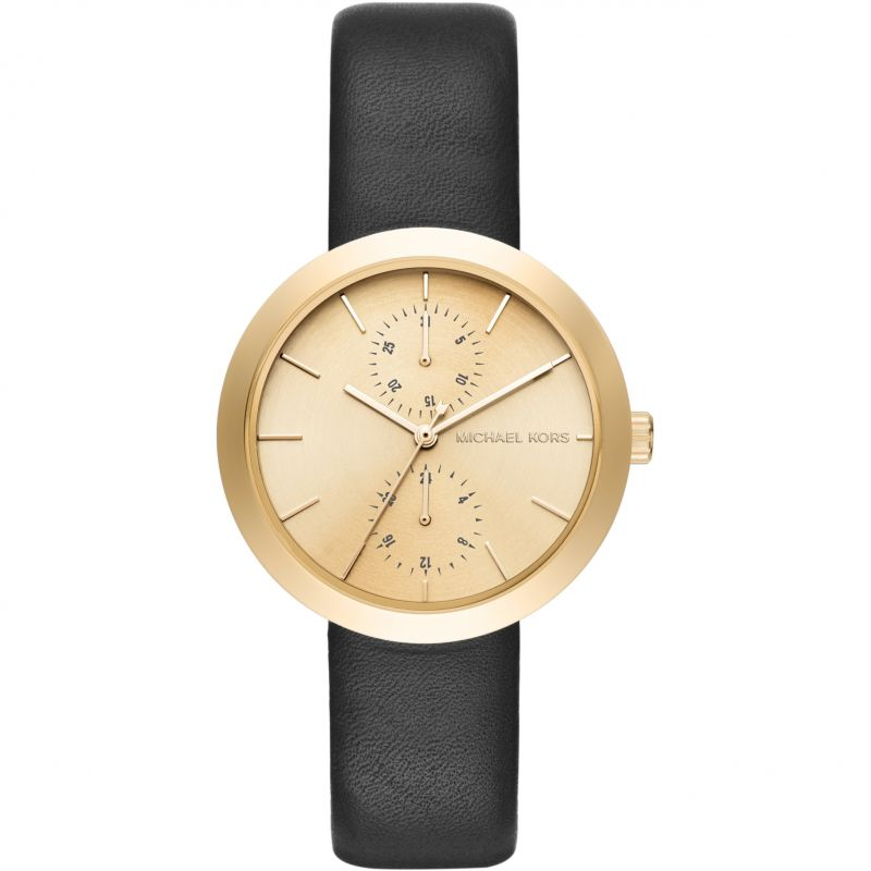 Image of            Ladies Michael Kors Autumn Lux Watch