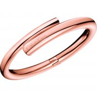 Ladies Calvin Klein PVD rose plating Extra Small Scent Bangle KJ5GPD1001XS