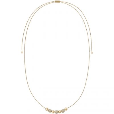 Michael Kors Dames Brilliance Necklace Verguld goud MKJ5522710