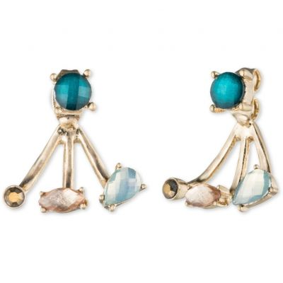 Biżuteria damska Lonna And Lilly Lifes a Gem Earrings 60441101-284