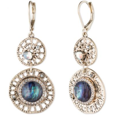 Ladies Lonna And Lilly Silver Plated Fancy Filigree Earrings 60441129-Z01