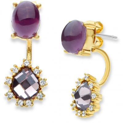 Biżuteria damska Lonna And Lilly Bead Brilliance Earrings 60441180-E50