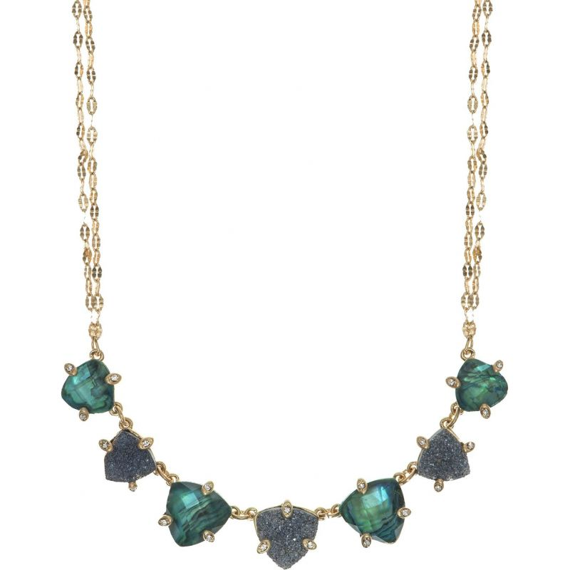 Ladies Lonna And Lilly Gold Plated Midnight Hour Necklace 60441214-284