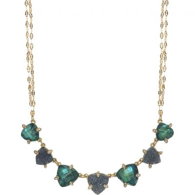 Lonna And Lilly Dam Midnight Hour Necklace Guldpläterad 60441214-284