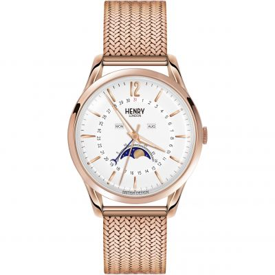Henry London Heritage Richmond Dameshorloge Rose HL39-LM-0162