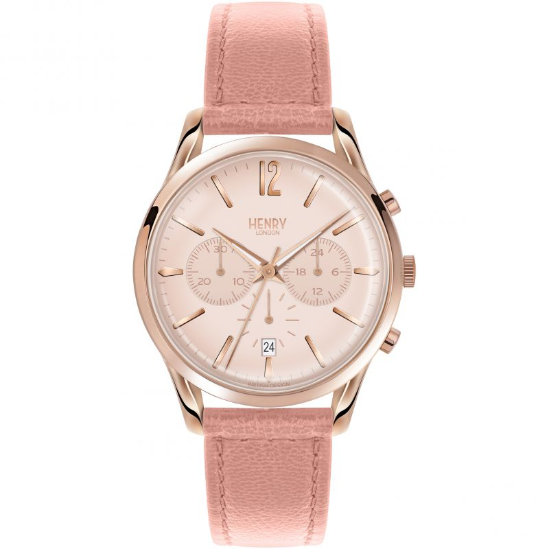 Ladies Henry London Heritage Shoreditch Chronograph Watch HL39-CS-0158
