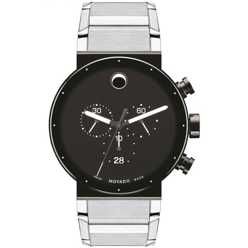 Mens Movado Sapphire Synergy Chronograph Watch