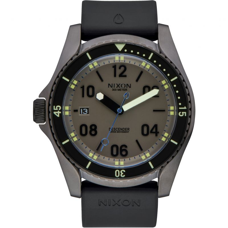 Mens Nixon The Descender Sport Watch A960-1418