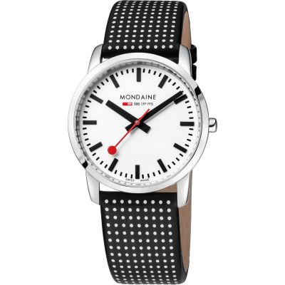 Unisex Mondaine Swiss Railways Simply Elegant Watch A4003035111SBO