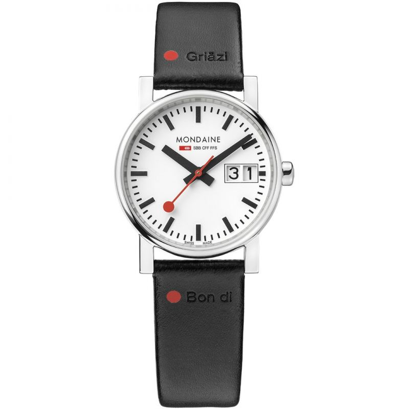 Ladies Mondaine Swiss Railways Nord Sud Gottardo Watch