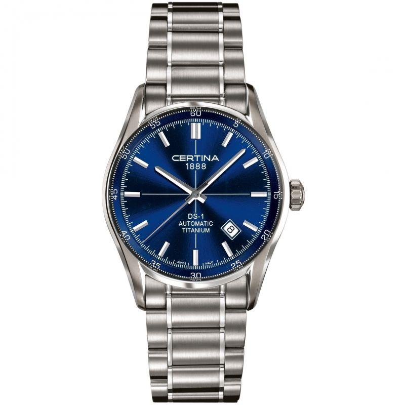 Mens Certina DS-1 Titanium Automatic Watch