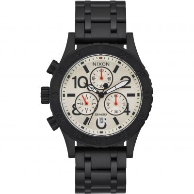 Nixon The 38-20 Chrono Herenchronograaf Zwart A404-2357